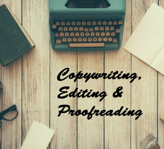Copywriting, Editing & Proofreading Portfolio