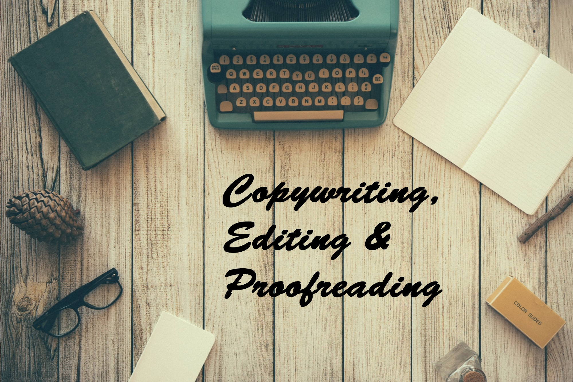 Copywriting, Editing & Proofreading Portfolio