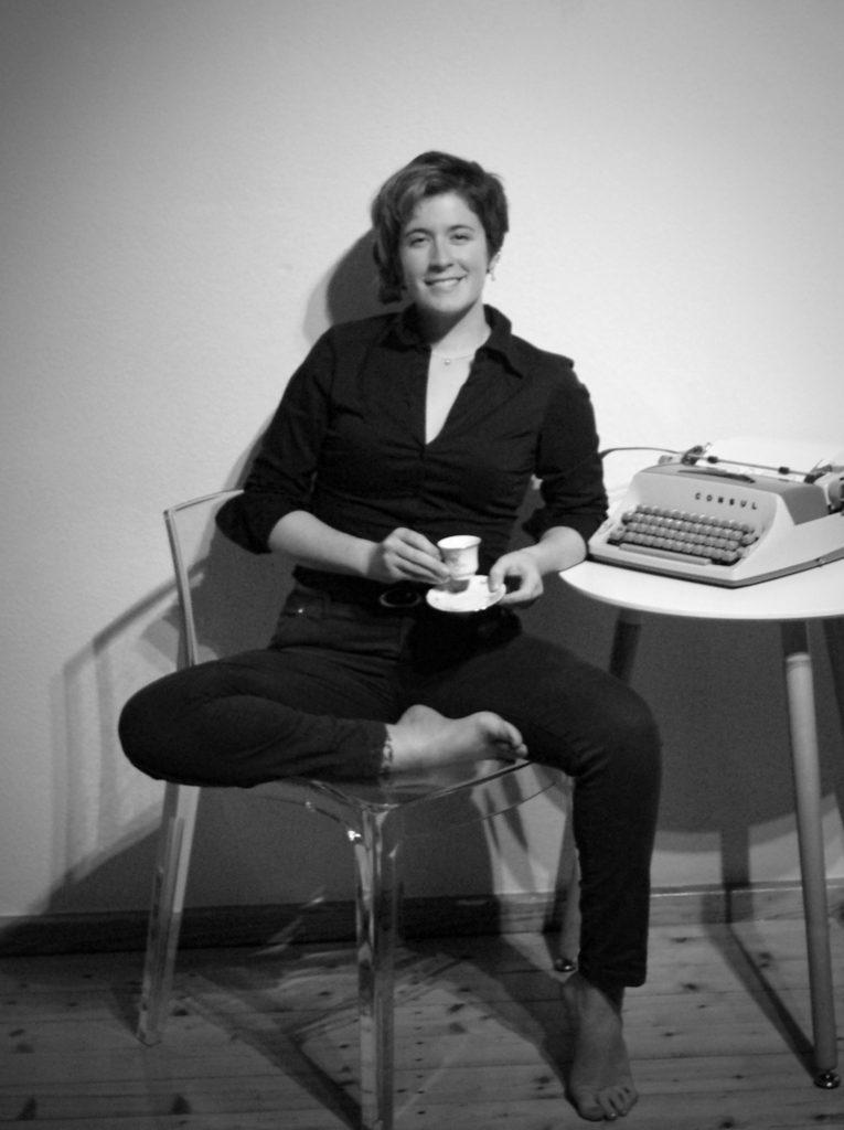 kasey typewriter vertical